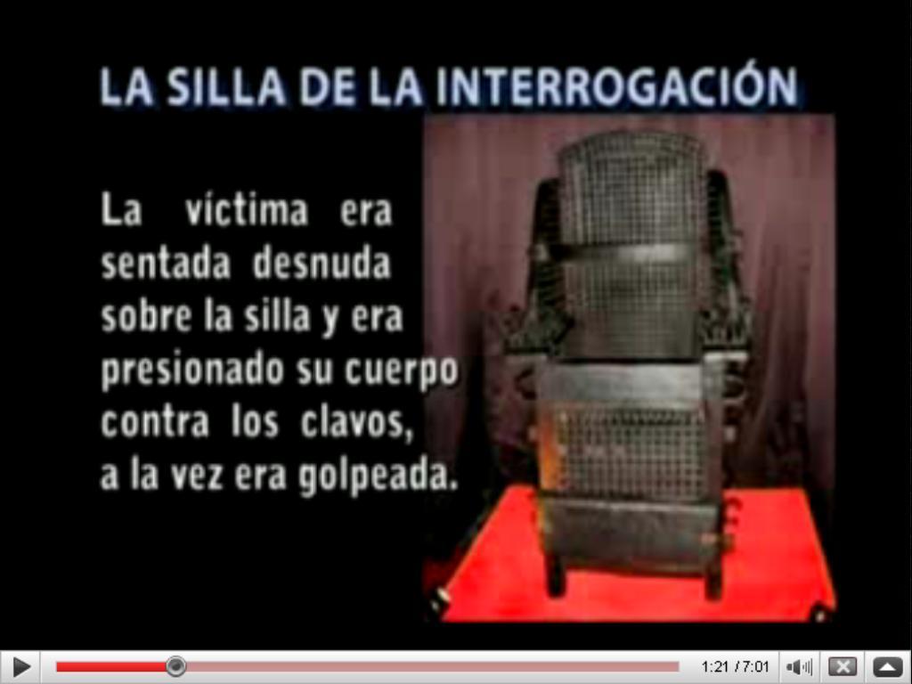 Los instrumentos de tortura de la Inquisicin - El potro