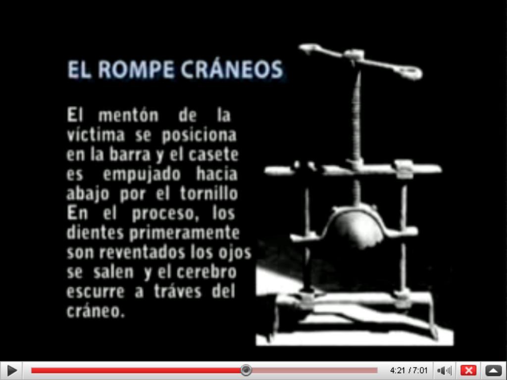 LA SANTA INQUISICIÓN Y SUS INSTRUMENTOS DE TORTURAS UN ...